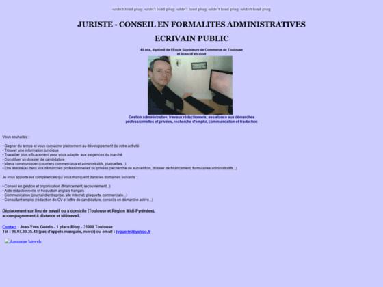 Cabinet de juriste - écrivain public à Toulouse