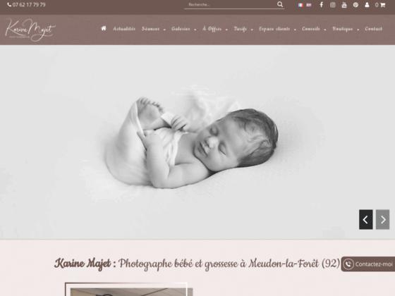 Karine Majet photographe - photo grossesse, bébé et portrait sur Paris et IDF