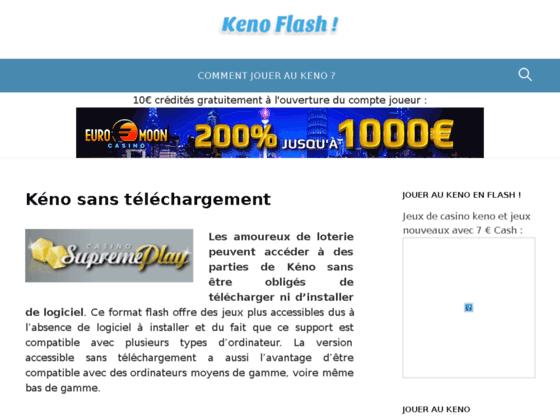 Keno flash