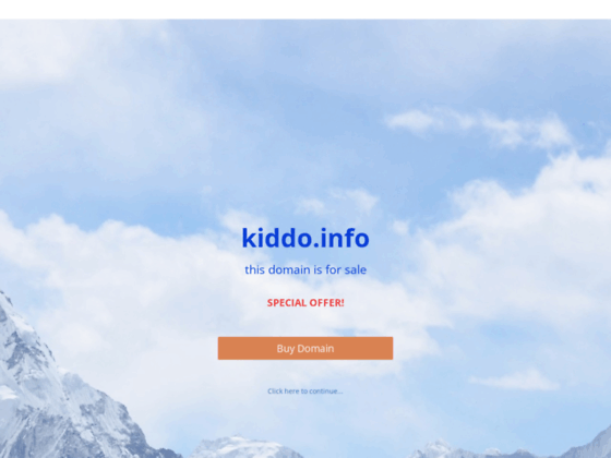 Скриншот сайта kiddo.info
