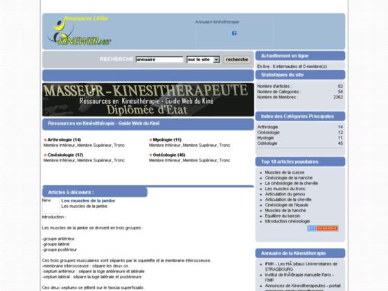 Photo image Ressources en  Kinésithérapie - Cours anatomie et aide mémoire