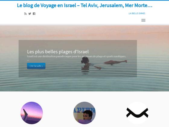 Blog Voyage Israel