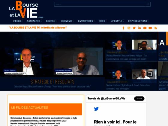 Web TV Bourse Economie et Entreprises