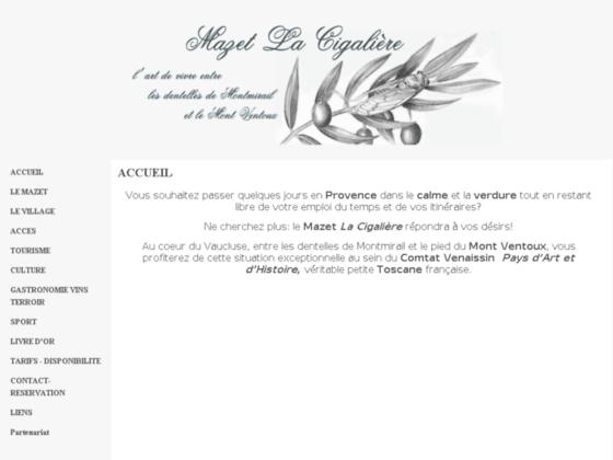 Mazet La Cigalière