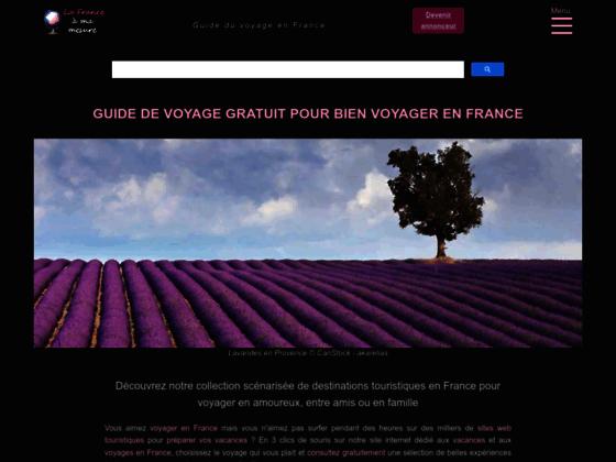 Voyages et séjours sur mesure en France