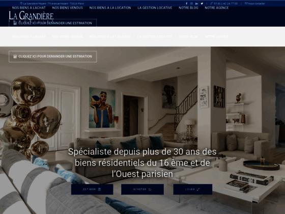 Agence immobiliere paris 16 - La Grandière