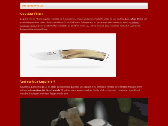 Mon couteau Laguiole de qualité