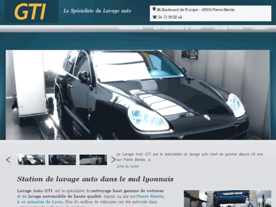 GTI Lavage Auto Lyon Pierre-Bénite Rhône