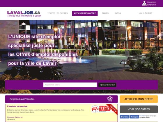 Emploi administrationà Laval