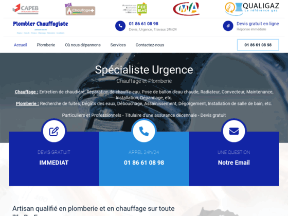 LCM Plombier Chauffagiste Le Plessis-Bouchard