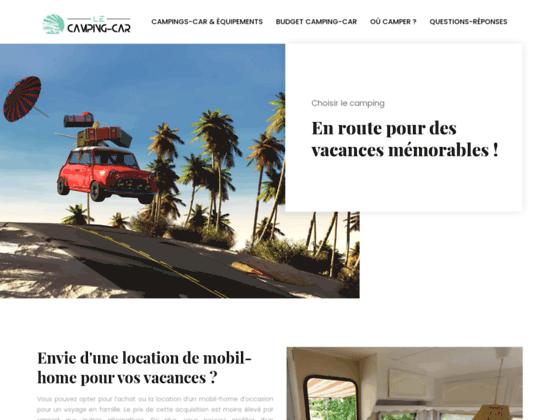 CAMPING CAR – vente et location de camping-car neuf et occasion