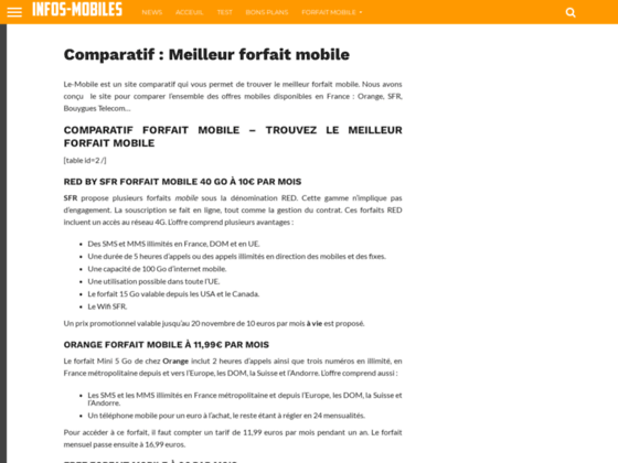 Code promo sfr mobile, Code réduction sfr