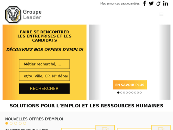 Agence d'interim - Groupe Leader
