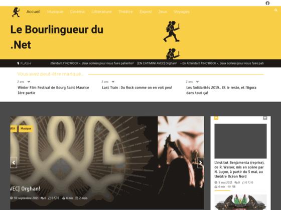 Actualité Cinéma, Musique et Théâtre par le Bourlingueur du Net