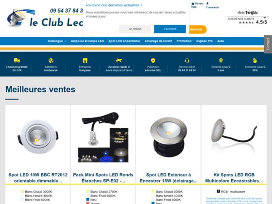 Le Club LED : éclairage LED de qualité à petit pri