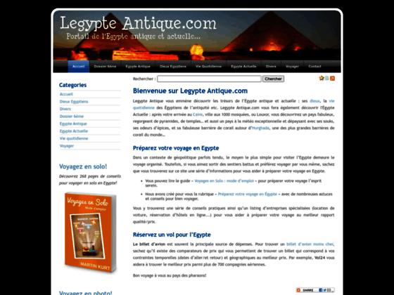 A la découverte de l'Egypte Antique