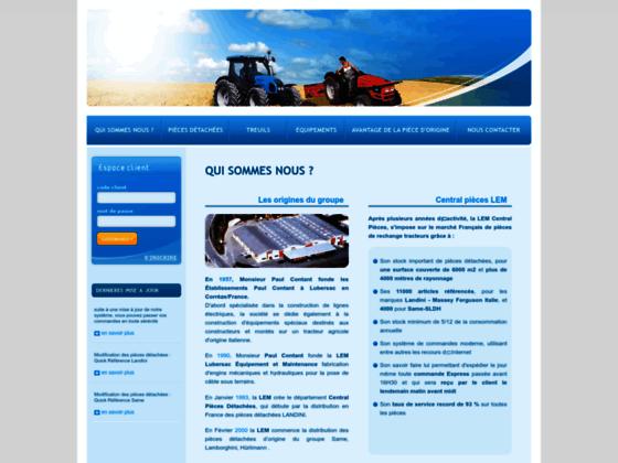LEM Central Pièces Tracteurs Landini Same Treuils