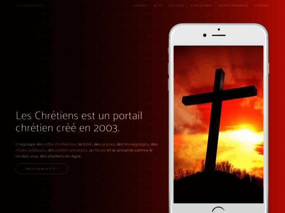 Leschretiens.fr : Le portail chretien