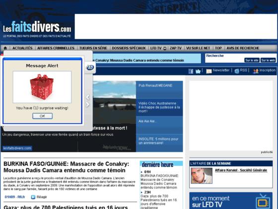 Les Faits Divers - l'actualité des faits divers en France, Paris, Lyon...