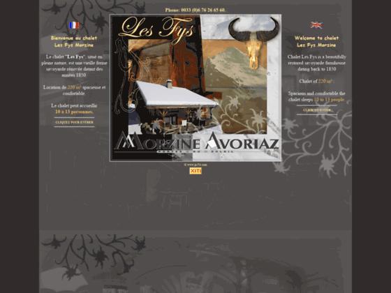 Location a Morzine chalet hébergement Mor
