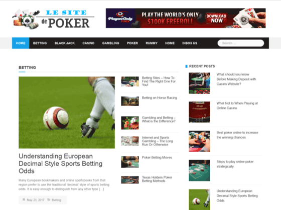 Comparatif des sites de poker en ligne