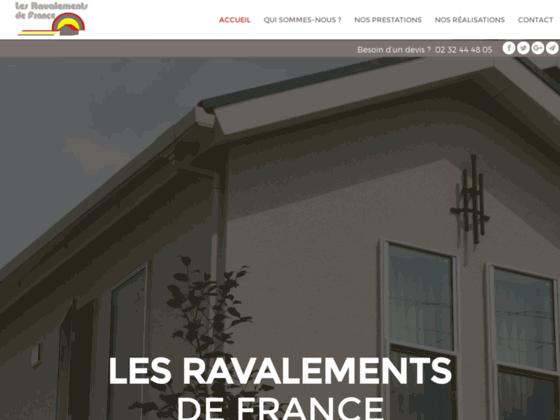 LES RAVALEMENTS DE France- Enduit de façade Rouen