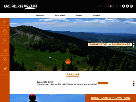 Station de ski de fond et de ski nordique dans le Jura
