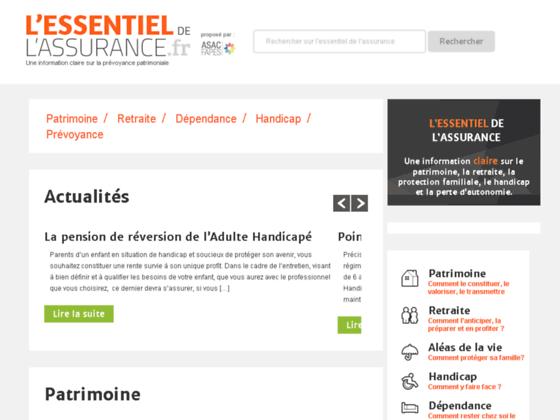 http://www.lessentieldelassurance.fr