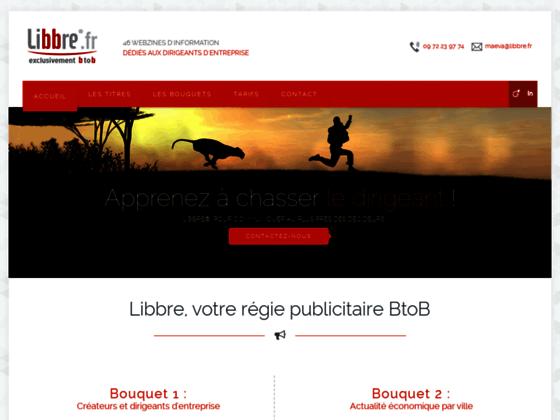 LIBBRE ®, Des outils et services communicants pour votre entreprise