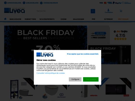 Livea - grossiste sanitaires européen - Livea Sanitaire SAS