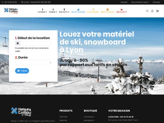 location ski et snowboard pour enfants