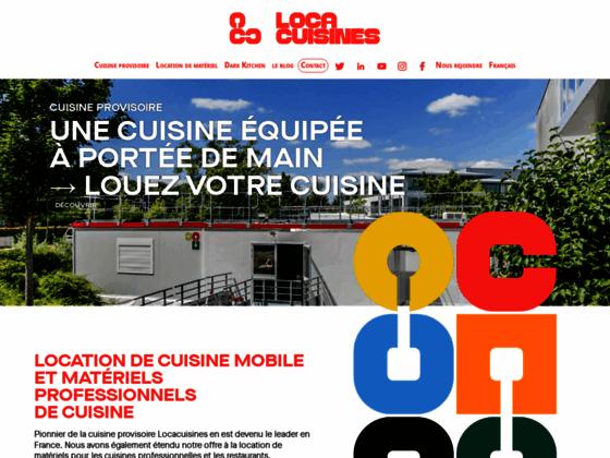 Location en équipement de cuisine professionnelle
