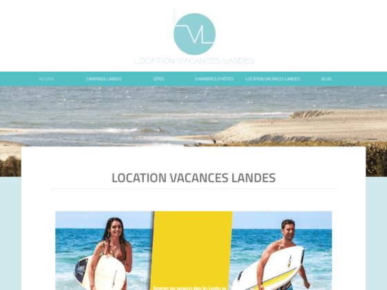 Location vacances landes: camping, gîtes