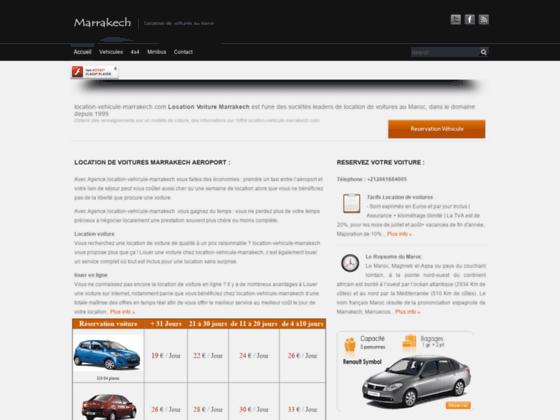 location voiture marrakech - voiture de location -  location de voitures à Marrakech