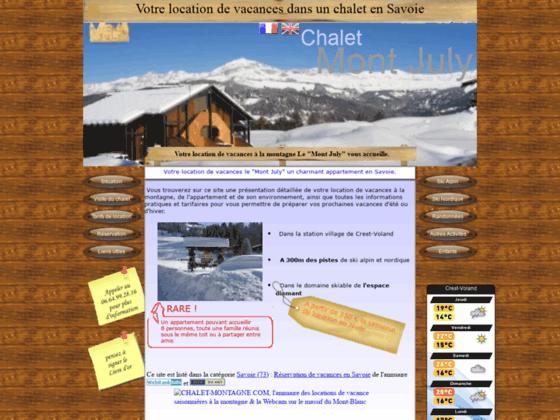 Appartement à louer à la montagne Savoie