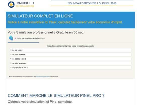 Loi Pinel simulation gratuite