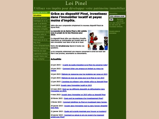Loi Pinel : Réussissez votre investissement immobilier en loi Pinel grâce à notre simulation loi Pin