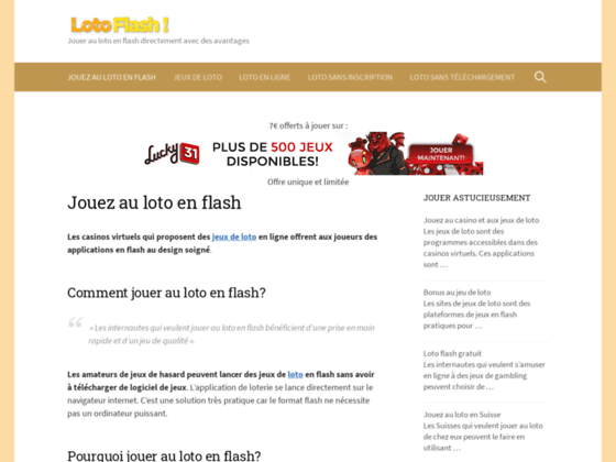 Loto flash