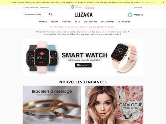 LUZAKA : montres et bijoux fantaisie à petits prix !