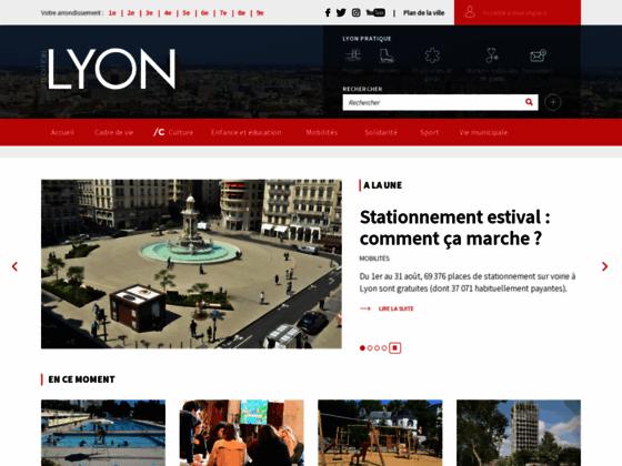 Site officiel de la ville de Lyon