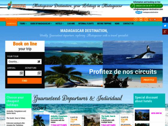 Madagascar Destination, votre agence spécialiste de voyages à Madagascar