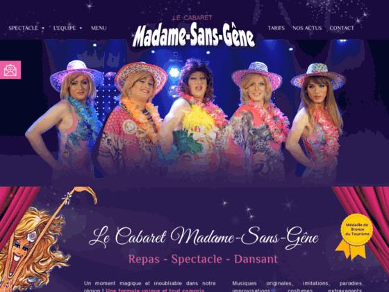 Cabaret Madame Sans Gêne à  Vendôme | Dîner Specta