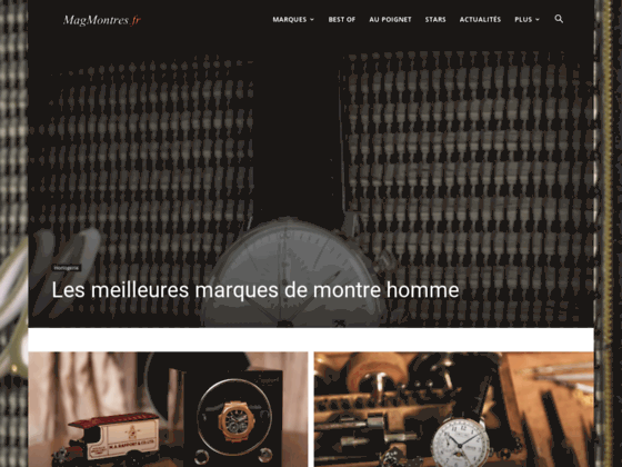MagMontres, votre boutique luxe en ligne