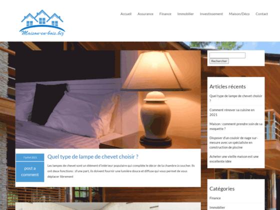 MAISON EN BOIS - la maison en bois - confort - éco