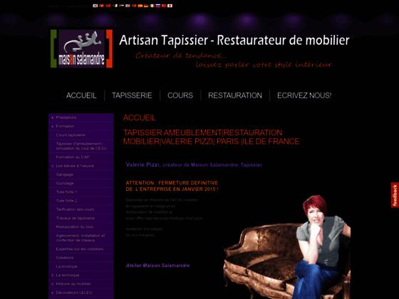 Valerie Pizzi - Créateur Tapissier décorateur -Colombes et Ile de France