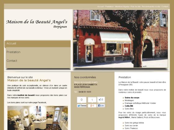 Institut de beauté Perpignan - Maison de la beauté Angel's