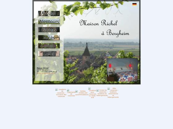 Maison Richel à Bergheim (Alsace)