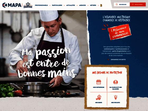 Mutuelle d'assurance MAPA dédiée aux profesionnels