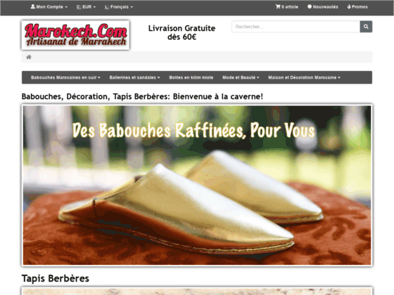BAbouches et artisanat marocain