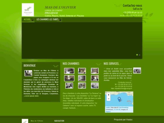 Maison d'hôtes en Provence : le mas de l'olivi
